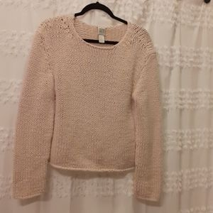DKNY chunky knit sweater -- perfect for cozy days!